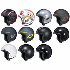 NEW-HJC-IS-5-Open-Face-Motorcycle-Helmet-amp-Drop-Visor-DOT-Pick-Size-amp-Color