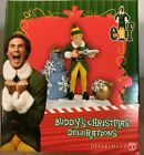 Department 56 Elf The Movie Village Buddy's Christmas Decorations