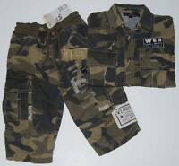 Dj Xs 99 Extra Small Camouflage Outfit Size 4 Made In Italy Free Shipping