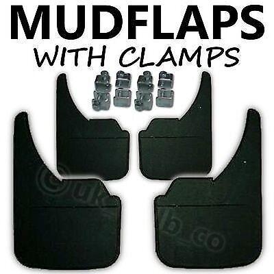 4 X Nueva goma de calidad mudflaps para caber Ford Fusion de ajuste universal