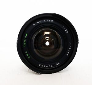 Vintage-RMC-TOKINA-17mm-3-5-Ultra-Wide-Angle-Lens-for-M42-fit-PARTS-REPAIR