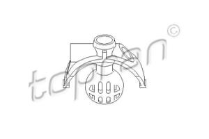 boutons tringlerie pour boîte manuelle TOPRAN 111 323 Boule