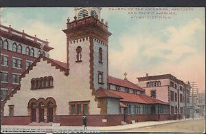 America-Postcard-Church-of-Ascension-Kentucky-Atlantic-City-New-Jersey-RT950