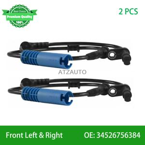 Front Left Right ABS Wheel Speed Sensor For MINI COOPER 2002-2009 34526756384
