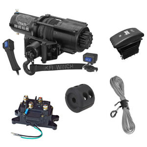 KFI-SE45-Stealth-4500lb-Winch-with-Mount-For-2018-2019-Can-Am-Maverick-Trail-800