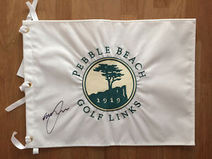 Graeme Mcdowell Signed Us Open Winner Pebble Beach Golf Flag