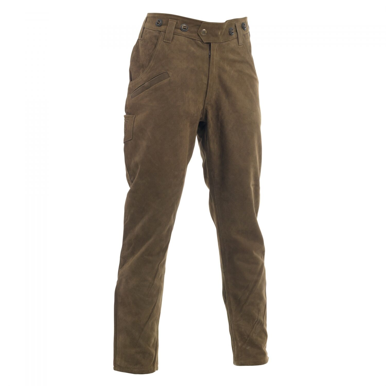 Deerhunter  Strasbourg Lederhose caza pantalones botas de cuero pantalones 551-marrón, talla 46-66  marcas de diseñadores baratos