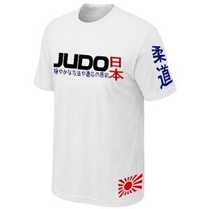 T-SHIRT-JUDO-MARTIAL-ART-JAPAN-NIPPON-COMBAT-SPORTS-Jersey-Siebdruck