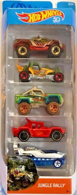 Jungle Rally Custom Ford Bronco 2018 Hot Wheels 5pk Beige ...