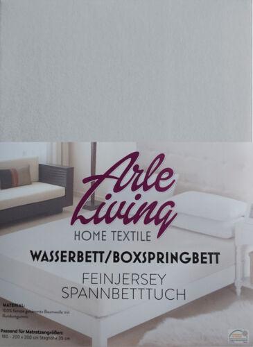 Doppelpack 180x200 cm Boxspringbett Spannbettlaken Wunschkombi 170 g//m²