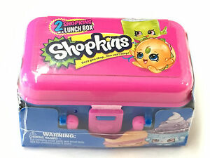 1 New Food Fair Shopkins Blind Mystery Pack 2 Hidden Shopkins Inside Lunch Box