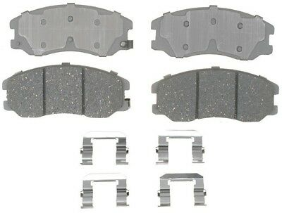 Disc Brake Pad Set-Ceramic Disc Brake Pad Front ACDelco Advantage 14D1650CH
