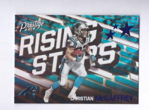 2018-Prestige-CHRISTIAN-MCCAFFREY-Rising-Stars-Xtra-Points-Blue-SP-Panthers