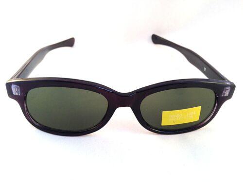 Ladies Womens Black Slim Classic Retro Dark Tint CE Sunglasses UV400 S83