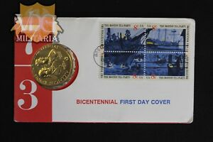 American-Revolution-Bicentennial-Medallion-First-Day-Cover-Price-Per-One