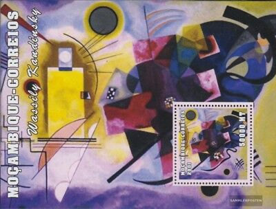 Sincere Mosambik Block98 Unmounted Mint Never Hinged 2001 Art Mozambique Stamps