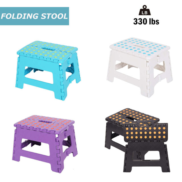 Excellent Sturdy Folding Step Stool 4 Colors For Adultstoddlers Kids330Lbs Support Pdpeps Interior Chair Design Pdpepsorg