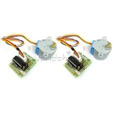 2PCS 12V Stepper Motor 28BYJ-48 + Drive Test Module Board ULN2003 5Line 4 Phase