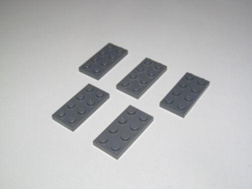 Lego ® Construction Lot x5 Plaques 2x4 Plate Platten Choose Color ref 3020