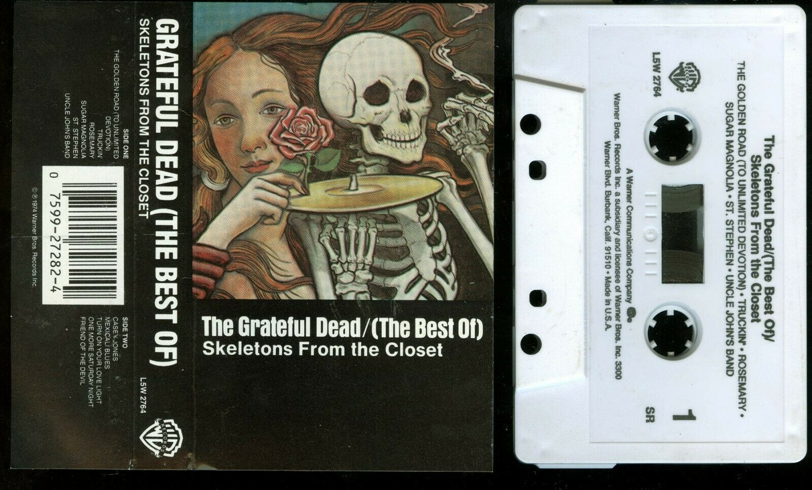 Grateful Dead Skeletons From The Closet Greatest Hits Rare Thai Import Cassette