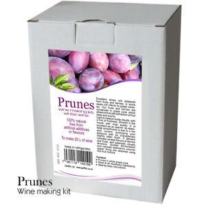 Prunes-Wine-Making-Kit-20-L-of-Rose-Wine-Home-Brew-amp-Wine-Making
