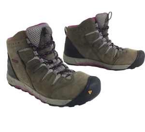Keen-Bryce-Mid-Waterproof-Hiking-Leather-Boots-Womens-size-9-5