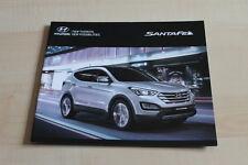 129105) Hyundai Santa Fe Prospekt 04/2013