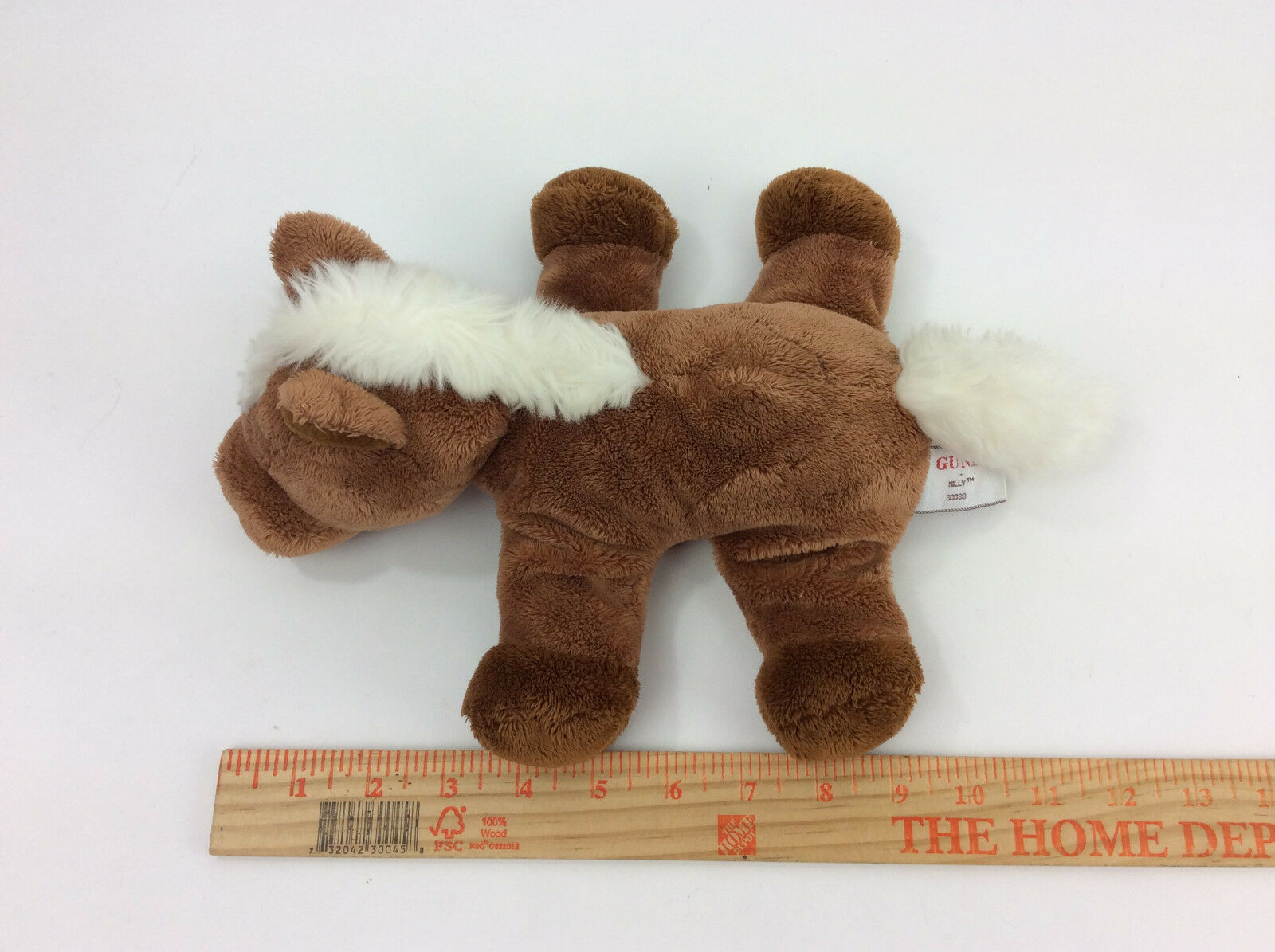 GUND Nilly Horse Brown Pony Plush Stuffed Animal 9    59902a
