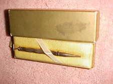 X-NICE  vintage  10K GOLD FILLED CROSS ATX PURSE PENCIL - CRISP in BOX
