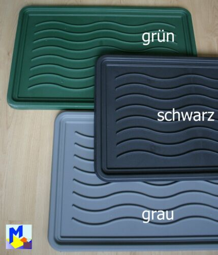 abstellwanne pour Chaussures forme d/'onde 43x68 cm NEUF pratique et stable en 3