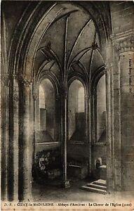 CPA CIZAY-la-MADELEINE - Abbaye d'Asnieres Le Choeur de l'Église (253786)