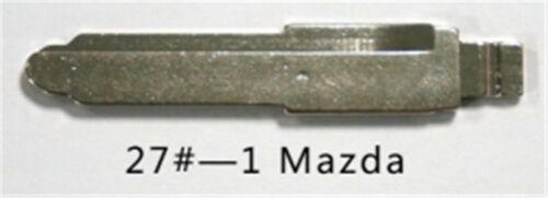 Maz24R for Mazda 1 10PCs KEYDIY Universal Remotes Flip Blade 27#