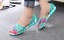 Women-039-s-Summer-Open-Toe-Jelly-Flat-Sandals-Beach-Rainbow-Color-2018-Shoes-Sandal thumbnail 10