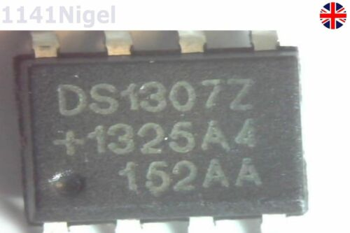 DS1307 DS1307Z SOP8 RTC SERIAL 512K I2C Real-Time Clock Pack of 1-10