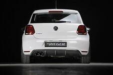 Rieger Heckeinsatz im Carbon-Look für Doppelendrohr links für VW Polo 6R GTI