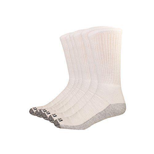 Dickies Men/'s Multi-Pack Dri-Tech Moisture Control Crew Socks