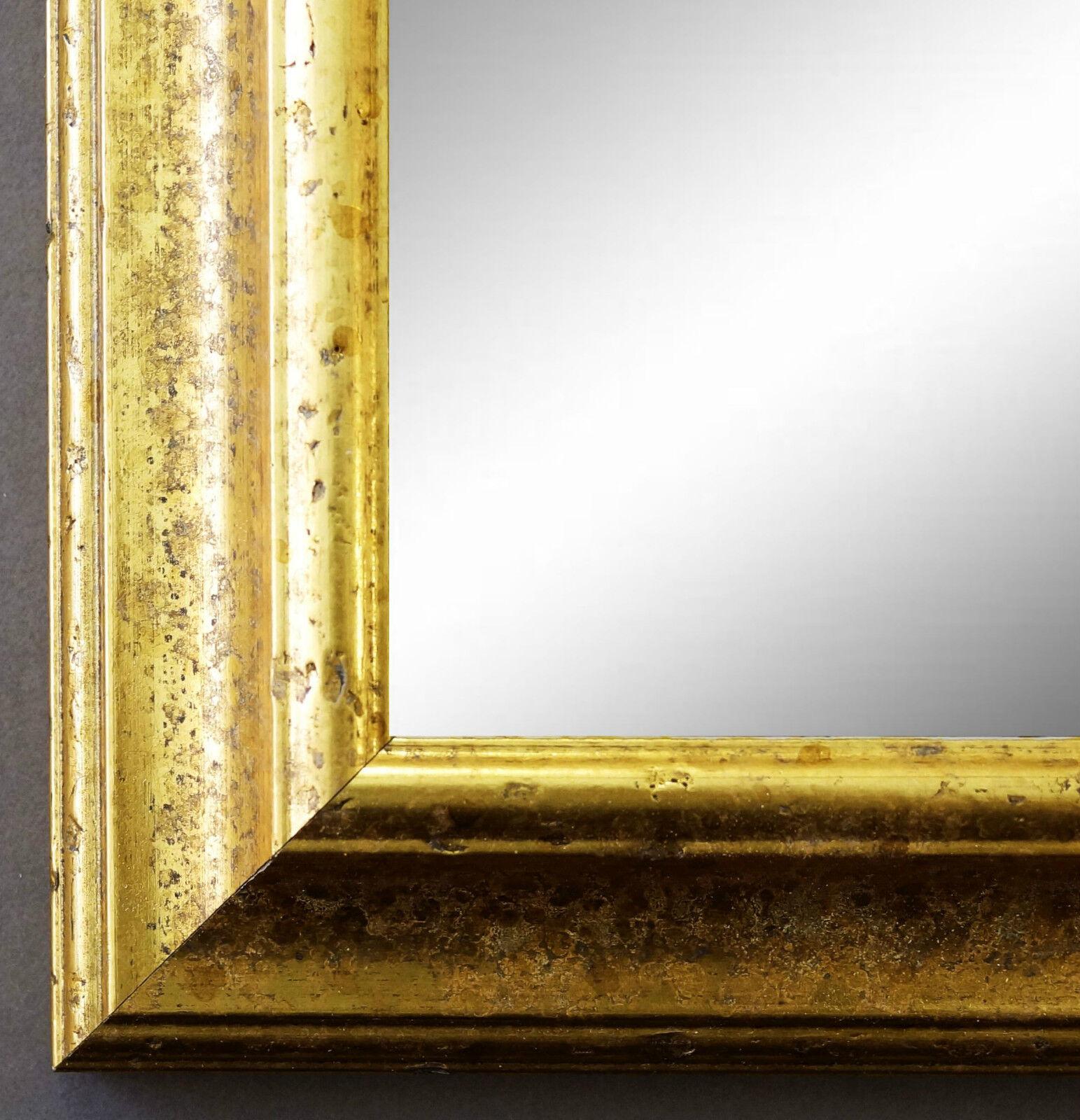 Dekospiegel Gold Genua Antik Barock 4,3 - alle Größen