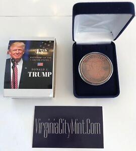 President-Donald-Trump-Make-America-Great-Again-Commemorative-Coin-in-a-Case