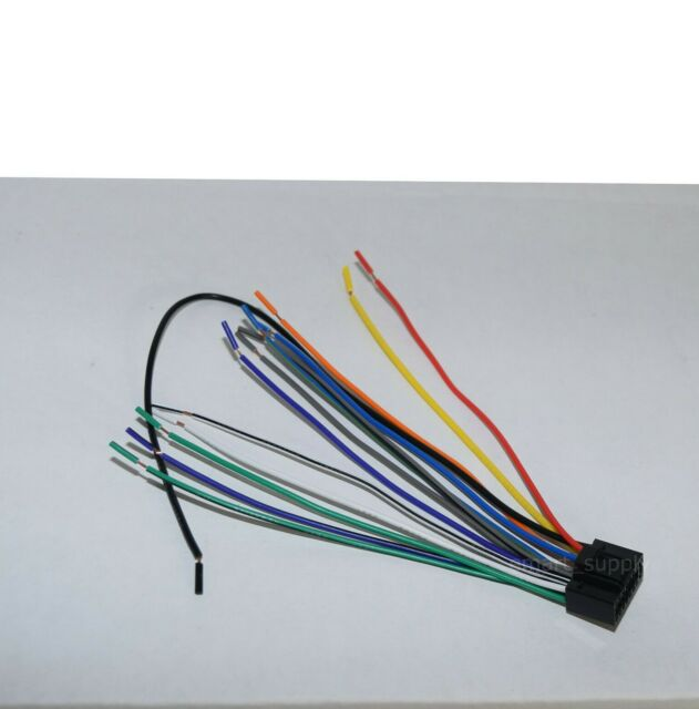 New Wire Harness For Jvc Kd