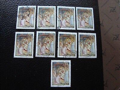 Warm Und Winddicht a Gutherzig Italien 1759 X9 Gestempelt Briefmarke Yvert Und Tellier Nr a9