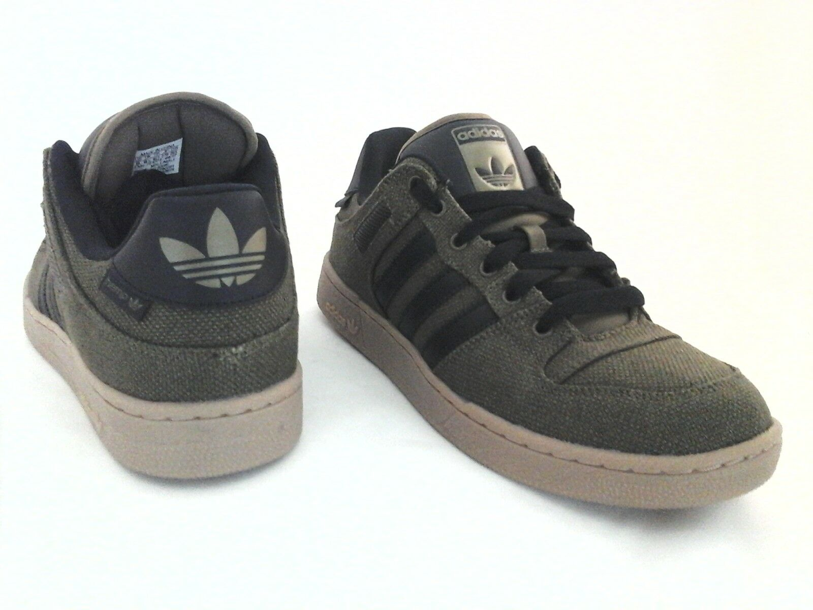 Adidas Bucktown ST HEMP Olive Green/Black w Gum Soles Sneakers Shoes AC6980