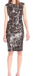 NWT Vince Camuto Women's Extended Cap Sleeve Bodycon Dress size 4