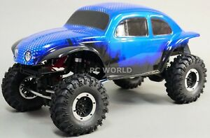 1-10-Rc-Rock-Crawler-Baja-VW-Escarabajo-Bug-4x4-Camion-1-9-Rtr-Azul