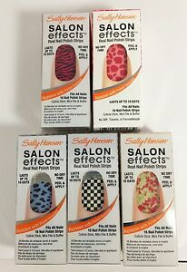 Sally-Hansen-Salon-Effects-Real-Nail-Polish-Strips-Manicure-Choose-You-Color