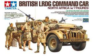 Tamiya-32407-1-35-Britanico-Lrdg-Command-Coche-amp-7-Figuras-Norte-Africa