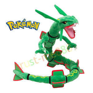 "Pokemon Center RAYQUAZA 31"" Stuffed Plush Toy Doll Plushie New Xmas Gift"