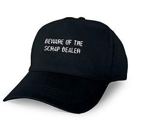 BEWARE OF THE SCRAP DEALER PERSONALISED BASEBALL CAP SCRAP DEALER XMAS GIFT CUST