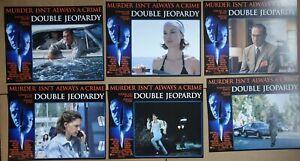 Double Jeopardy 1999 Lobby Card Set Of 6 Ashley Judd Tommy Lee Jones Ebay