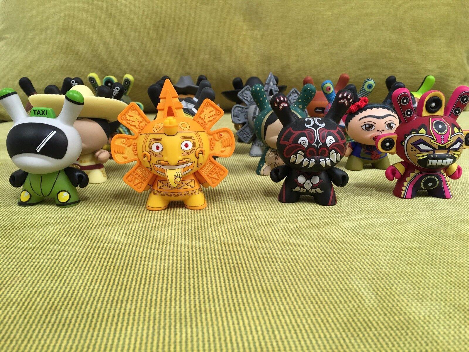Kidrobot Dunny Azteca 2 -serien set