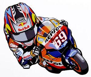 Nicky-Hayden-MOTO-honda-repsol-69-Tribut-America-adesivo-sticker-motogp-adesivi